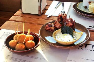 Test Driving Gotto - a waterside east London trattoria