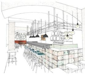 Luna Rossa reopens in Notting Hill with conveyor belt for Italian dishes