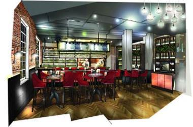 Tirage Champagne et Plats bar to open on Bishopsgate