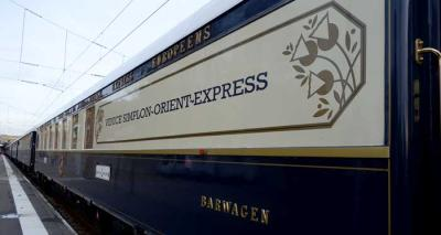 Taking the Venice Simplon-Orient-Express from London to Paris