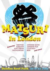 Tim Anderson launches Matsuri festival at Dalston Roof Park