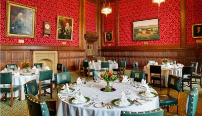 House of Commons Strangers Dining Room opens to the public for dinner for the first time