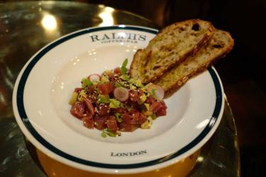 A clubby new bar for Regent Street - we Test Drive Ralph's Coffee and Bar