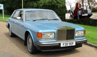 AA Gill's Rolls Royce is up for auction