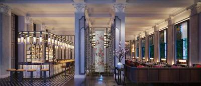 Mei Ume will be the Japanese and Chinese restaurant at Four Seasons Ten Trinity Square