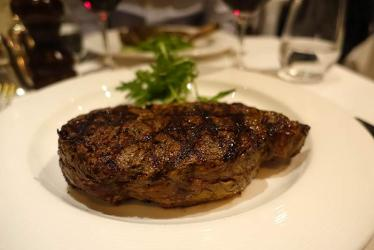 Test Driving The Guinea Grill - steak and history in Mayfair