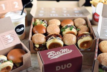 Bite Me Burger Co is Adam Rawson's new mini-burger restaurant