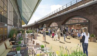 What restaurants are going in the new Battersea Power Station?