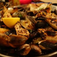 Crabshack Combo (16.95) Shrimp, Crab Claws, Mussels, Cherrystone Clams and New Potatoes