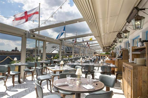 Selfridges latest rooftop pop-up is On the Roof with Vintage Salt