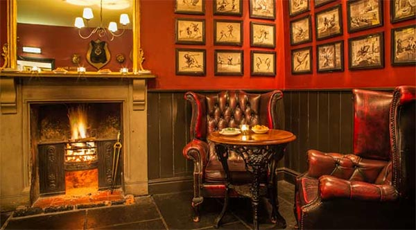 London restaurants with open fires - keeping warm this winter