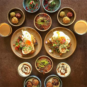 Symmetry Breakfast at The Good Egg