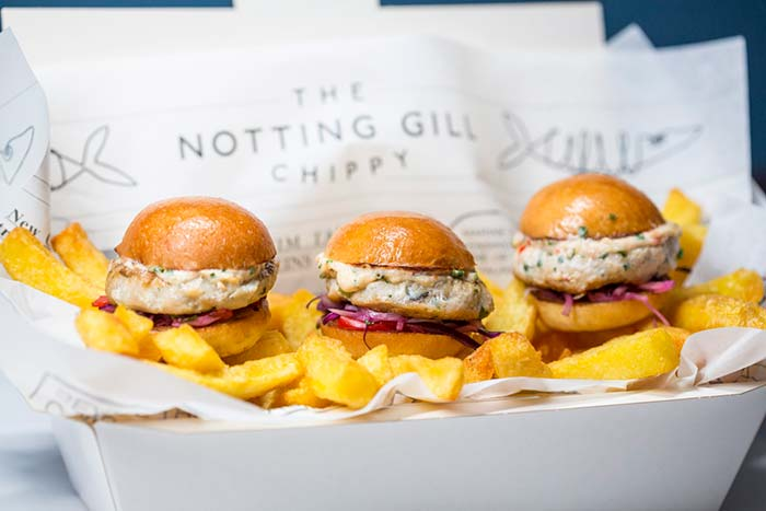 Kensington Place's Notting Gill Chippy is back