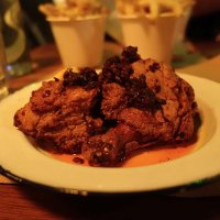Fried chicken, urfa chilli butter, lemon