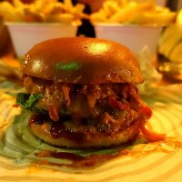 The Jose Jose Chilli burger