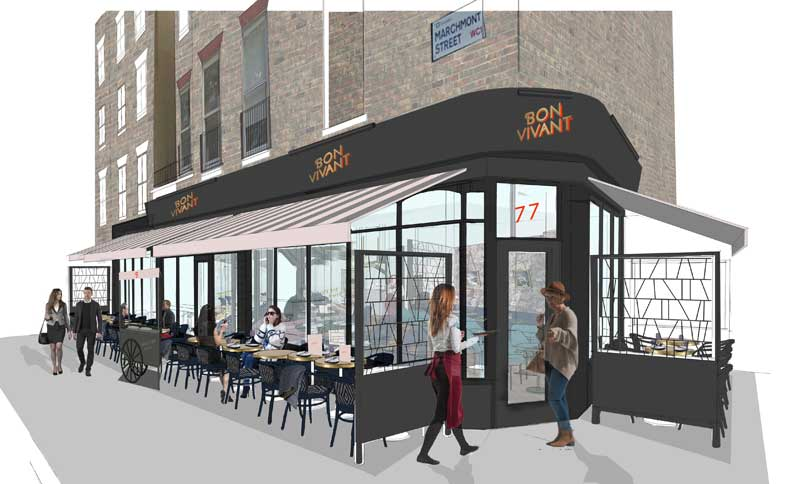 Bon Vivant French bistro to open in Bloomsbury