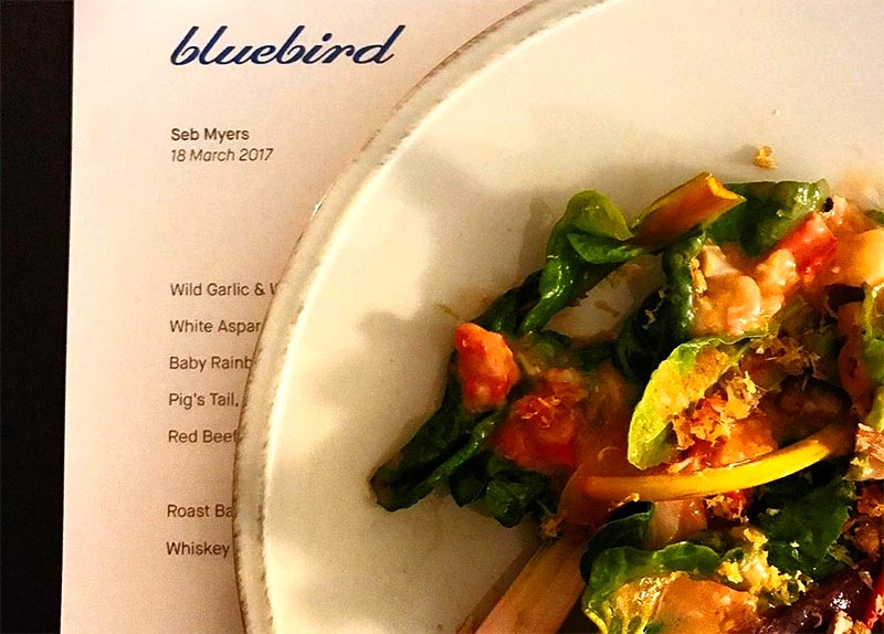 The Laughing Heart opens Bluebird - a downstairs  wine bar with chef Sebastian Myers at the helm