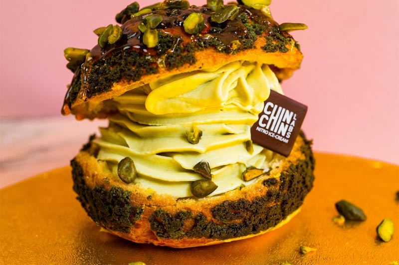 Chin Chin Club brings nitrogen ice cream and cakes to Soho