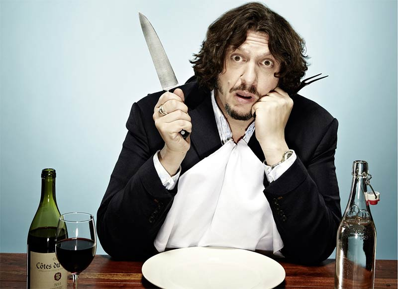 Jay Rayner shares his writing secrets at Brasserie Zedel