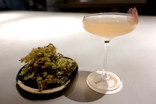 Test Driving Untitled in Dalston - Tony Conigliaro masters cocktails AND food