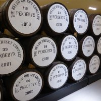 Touring the Penderyn distillery