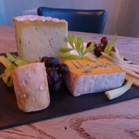 Caws Cenarth cheeses at the Harbourmaster