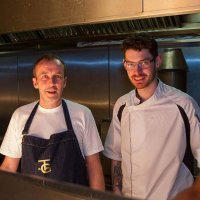 Carl Clarke and Forest's Head Chef Steve Wilson