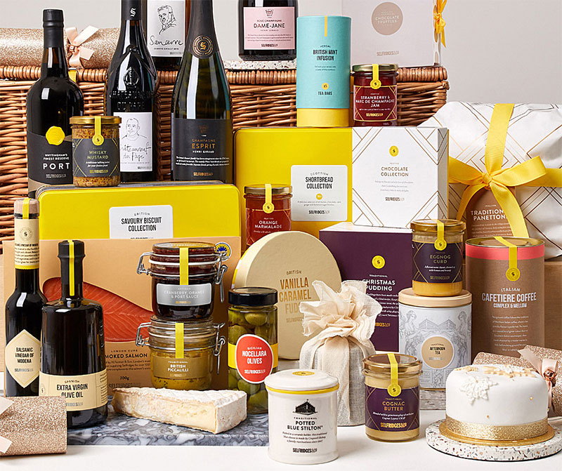The best Christmas hampers from London restaurants and shops