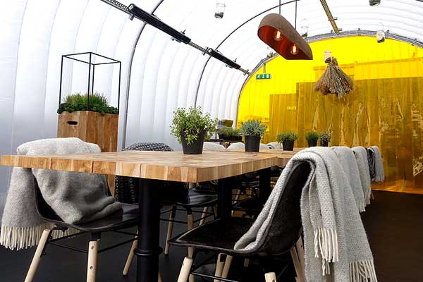 Join us for a special Hot Dinners lunch at wastED London on the rooftop at Selfridges