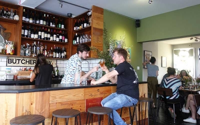 Test Driving The Mountgrove Road Bothy - a neighbourhood wine bar in Highbury