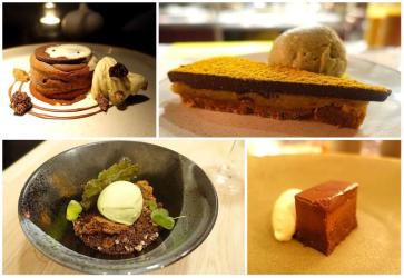 Chocolate desserts on London menus right now