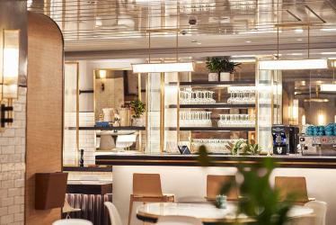 Harrods Brasserie is the Knightsbridge store's new all day family restaurant