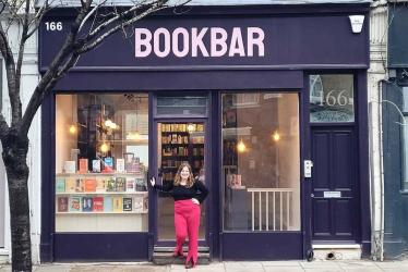BookBar on Blackstock Road will be a bookshop, winebar and meeting space