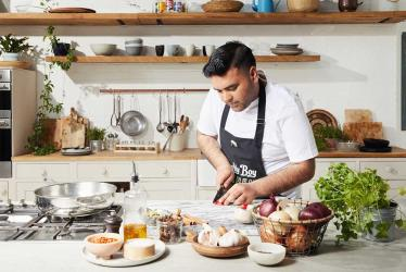 Naughty Boy is popping up at Boxpark Croydon with a two week kitchen residency