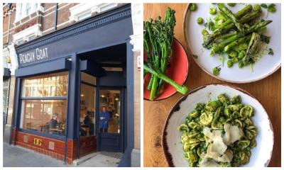 Peachy Goat will be a plant-based all day cafe and restaurant in Herne Hill