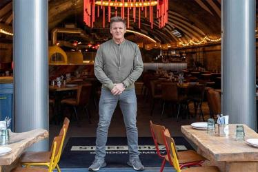 Gordon Ramsay's Street Pizza gets ready to open at Battersea Power Station
