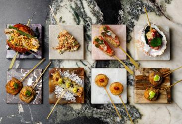 Dai Chi sees the Angelina team deep frying skewers in Soho