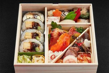 Daisuke Hayashi is serving up Japanese Airline bento boxes to Londoners during lockdown