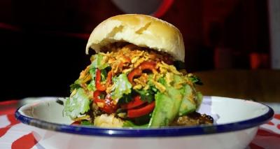 MEATliquor and The Begging Bowl team up for a new burger