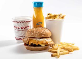 Five Guys are launching a breakfast menu in London