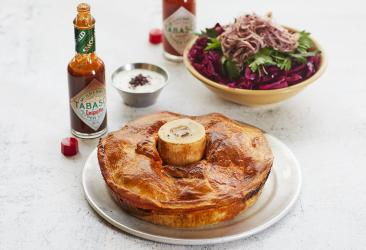 Black Axe Mangal returns to team up with Willy's Pies for a special pie delivery