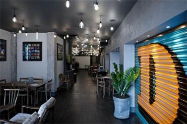 Graphic Bar in Soho serves up 3D art and sliders