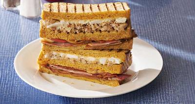 Heston Blumenthal launches a Full English sarnie at Waitrose (there's even coffee in the ketchup)