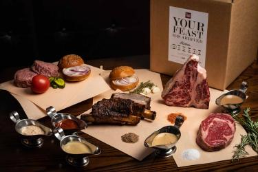 Prime Feasts is a mammoth box of meat from Goodman, Burger & Lobster and Beast