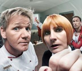 Gordon Ramsay and Mary Portas team up for Channel 4's Hotel Britannia