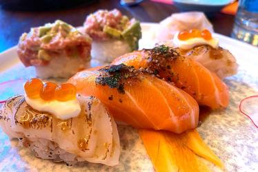 Test Driving Jiji -  a buzzy new sushi and shawarma spot for Islington