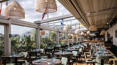 The Roof Deck Restaurant & Bar is Selfridges' latest rooftop restaurant