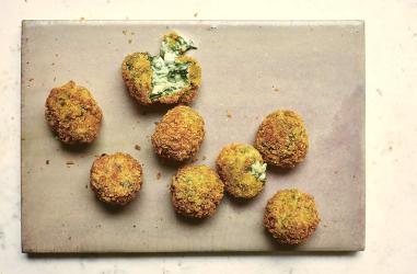 Spinach & goat's cheese croquetas by José Pizarro - London restaurant recipes