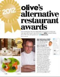 Alyn Williams, Hawksmoor, Byron pick up 2012 Olive Magazine Alternative Restaurant Awards