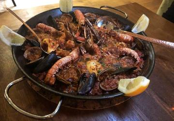 Test Driving Barullo - a City spot where the paella has the power to transport you